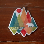 Shard Mtn Bear Sticker